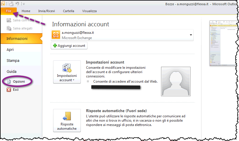 allegati mail outlook