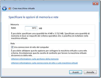 Windows 7: Eseguire un client Windows XP convertito in vhd