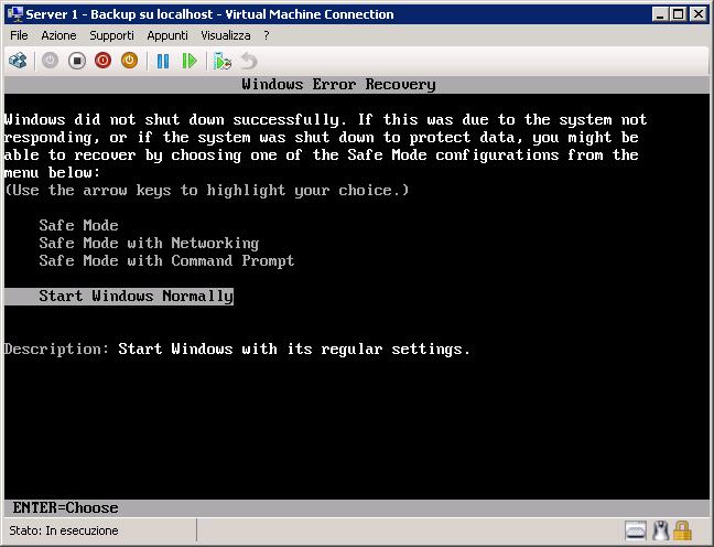 Hyper v utilizzare storagecraft shadowprotect con - Impossibile avviare microsoft outlook impossibile aprire la finestra di outlook ...