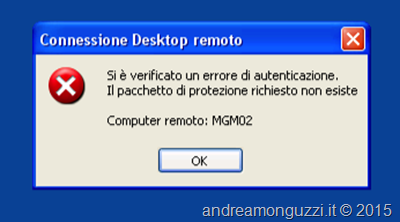 Windows XP RDP e NLA